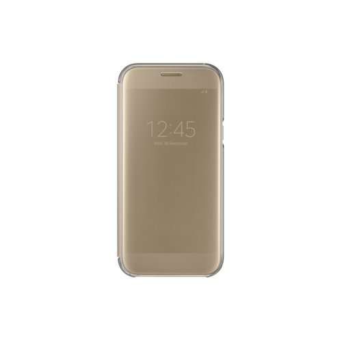Samsung Clear View Cover A5(2017) Gold