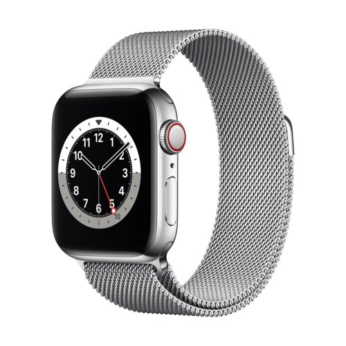 Smartwatch Apple Watch Series 6 GPS + Cellular 40mm Silver Stainless Steel
