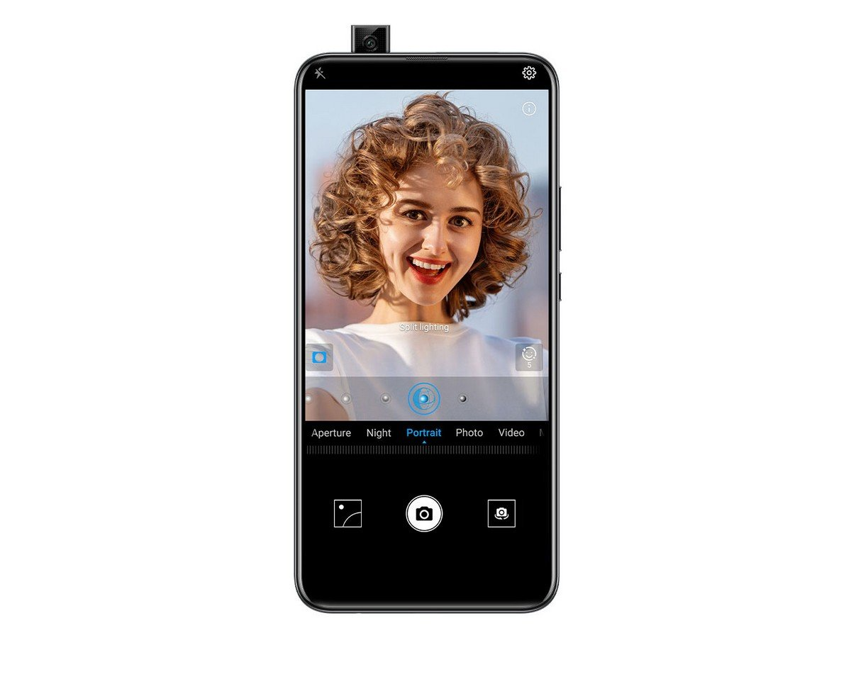 Smartfon HUAWEI P smart Z Midnight Black. Portret 3D.