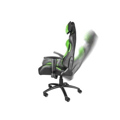 Fotel dla gracza Genesis Nitro550 czarno-zielony