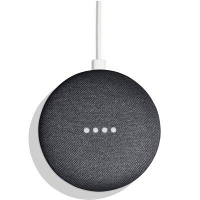 Asystent głosowy Google Home Mini ciemny szary