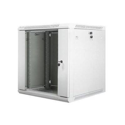 LANBERG Szafa instalacyjna wisząca 19'' 12U 600X600mm szara (drzwi szklane)