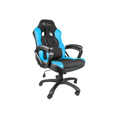 NATEC Fotel dla graczy GENESIS SX33 Black/Blue